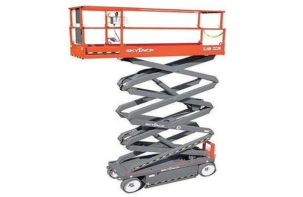Electric scissor lift hire