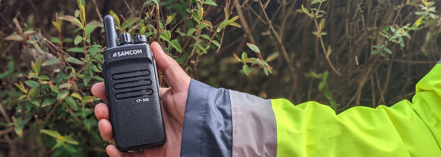 CP300 Hand Portable Two Way Radio
